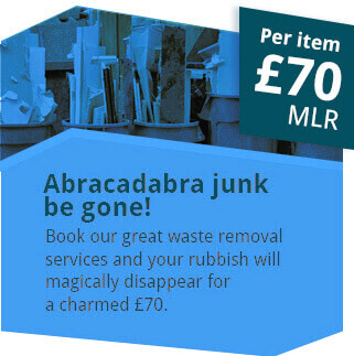 All Your Junk be Gone for Only £70