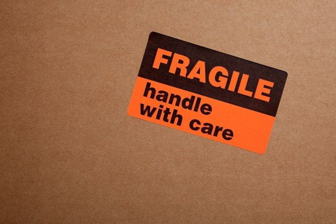moving fragile items