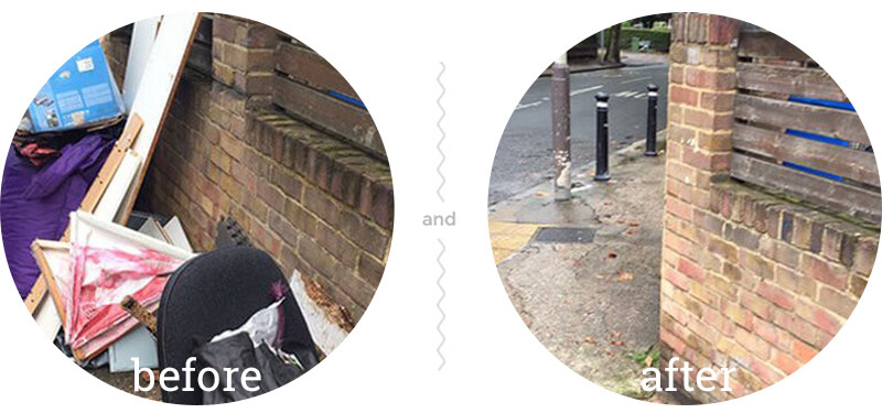 Waste Clearance Spitalfields