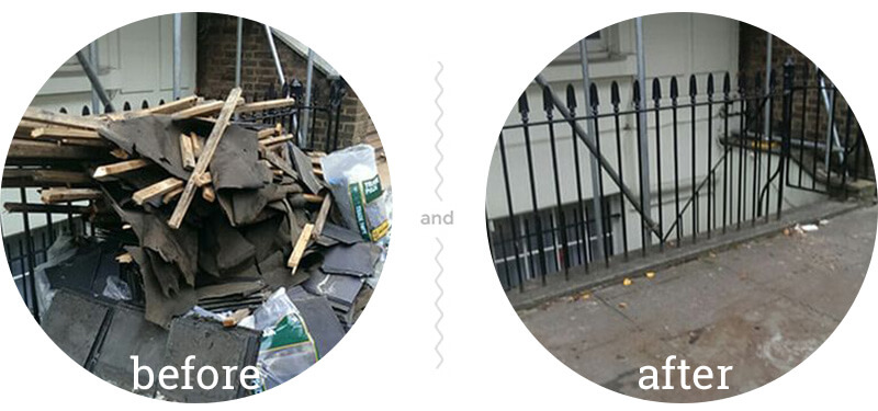 Junk Removal in Tufnell Park
