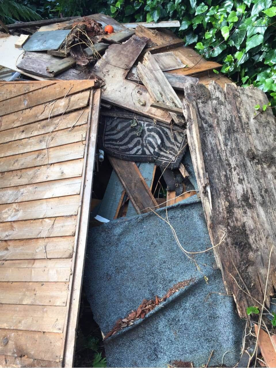 Brixton House Rubbish Recycling SW2