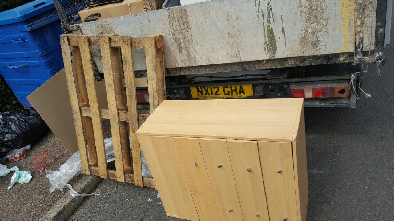 Homerton House Rubbish Recycling E9