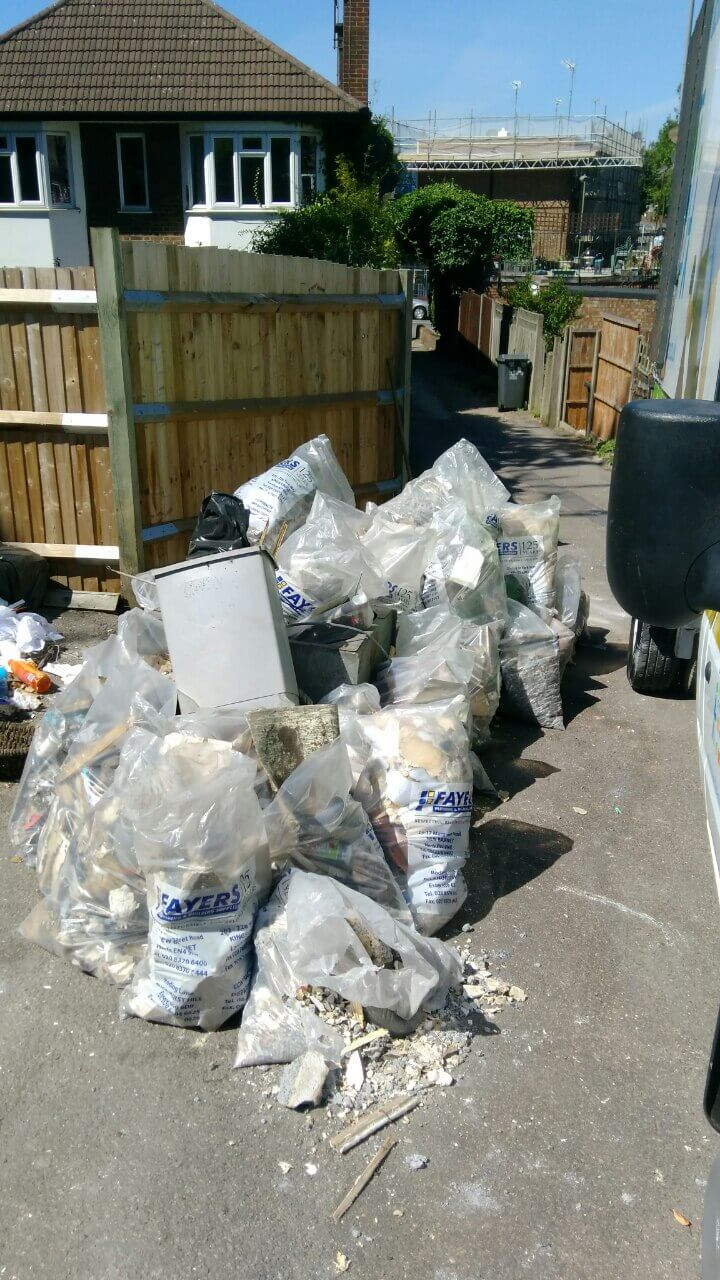 Northwood House Rubbish Recycling HA6