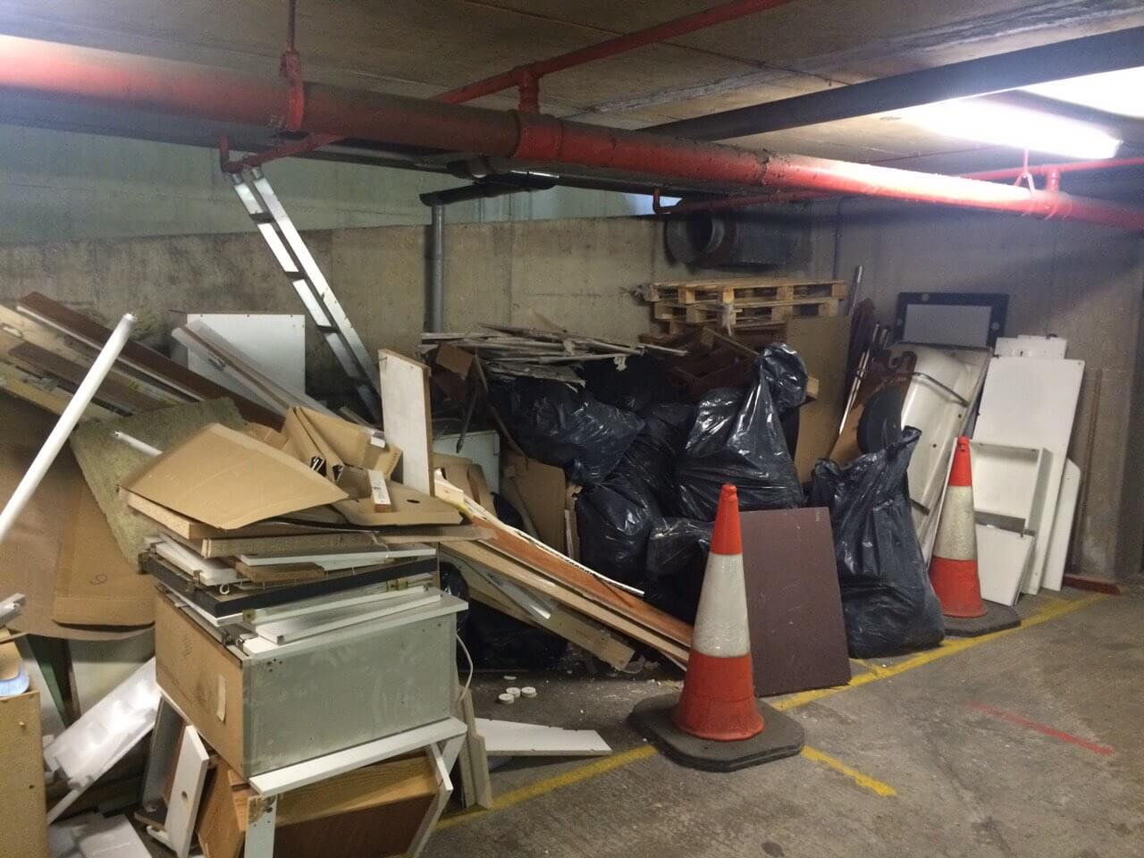 Stepney House Rubbish Recycling E1