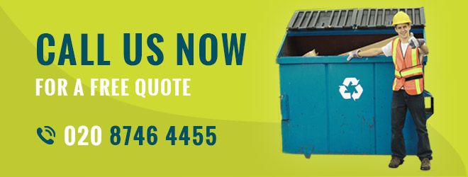 Call Us Now for a Free Rubbish Removal Quote 020 8746 4455